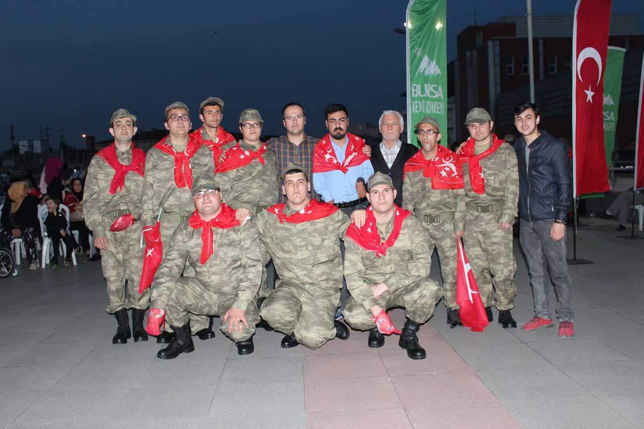 Bursa Temsili Askerlik Kına Eğlencesi, 2017