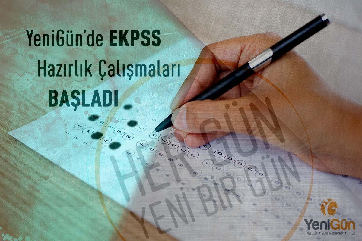 YeniGün'de 2018 EKPSS Hazırlıkları Başladı