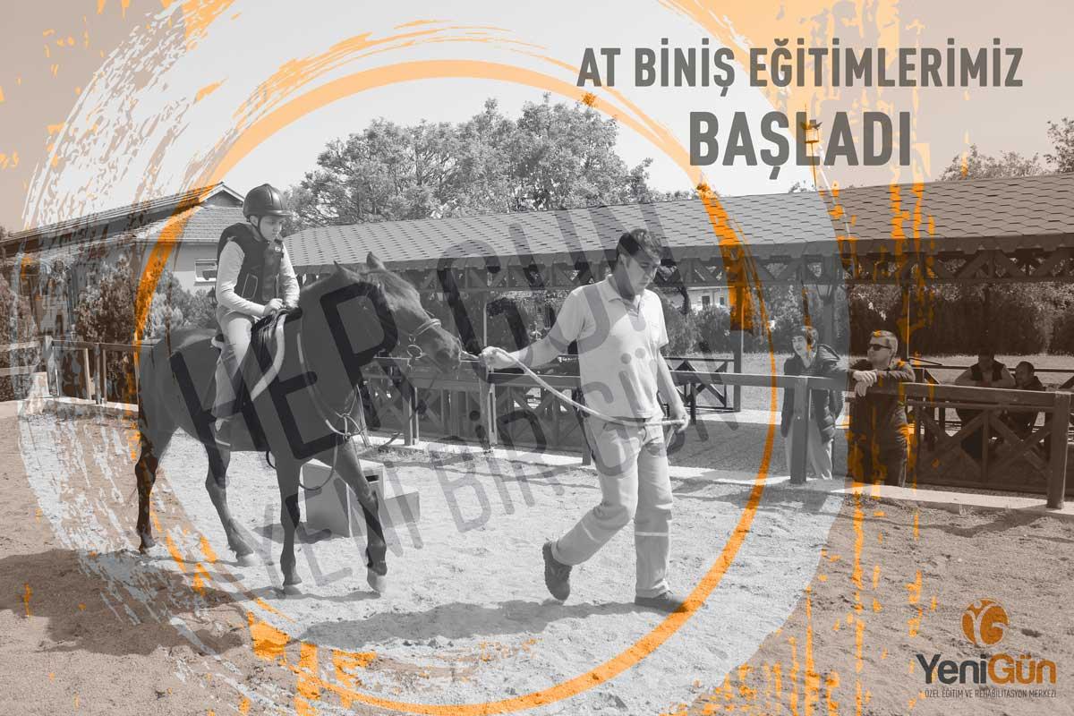 YeniGün'de At Biniş Eğitimleri Başladı