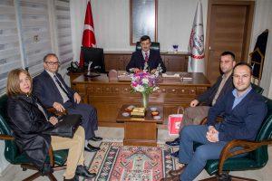 Bursa İl Milli Eğitim Müdürü Sabahattin Dülger'i ziyaret