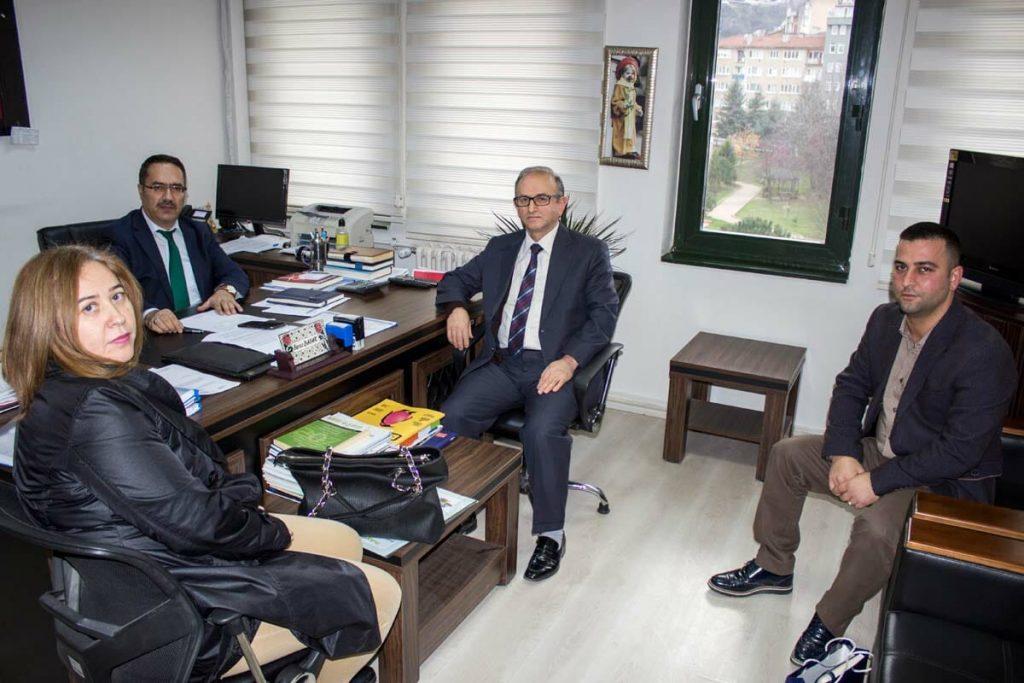 Bursa İl Milli Eğitim Teftiş Kurulu Başkanı Yavuz BAYAR'ı ziyaret
