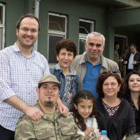 Öğrencilerimiz ve Aileleriyle Temsili Askerlik Törenindeyiz
