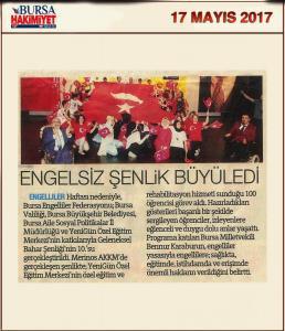 Bursa Hakimiyet (17.05.2017)