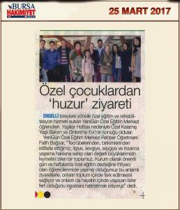 Bursa Hakimiyet (25.03.2017)
