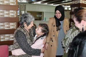 YeniGün Öğrencilerinden Yaşlılar Haftası Ziyareti
