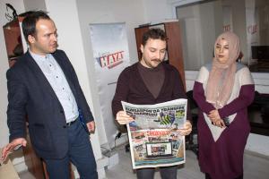 Bursa Hayat Gazetesi'nin Özel Konuklarıyız (2018)