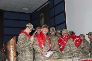 Gemlik, Temsili Askerlik Töreni (2018)
