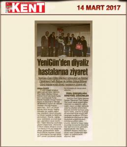 Kent Gazetesi (14.03.2017)